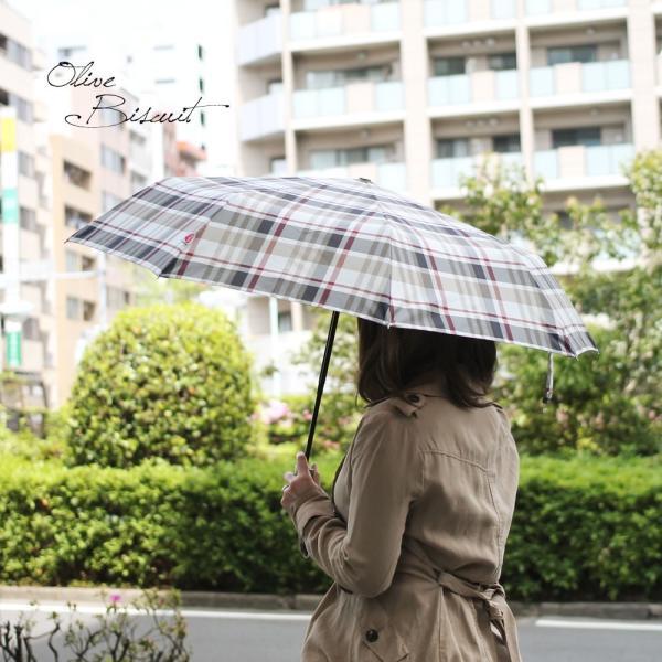 折りたたみ傘 自動開閉 おしゃれ チェック 折り畳み ワンタッチ傘 丈夫 ビジネス レディース レディス メンズ Men's 折りたたみ雨傘 イタリア rainbow|carron|05