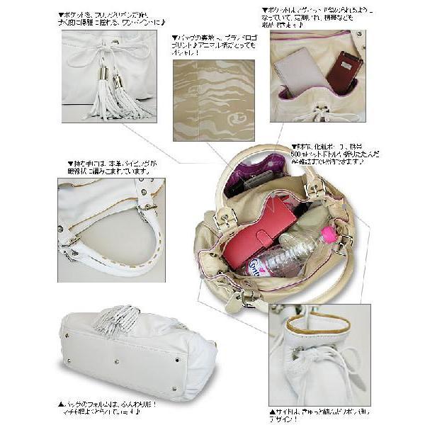 ショルダーバッグ レディース レディス パイピング フリンジリボン 本革レザー ボストンバッグ イタリア ROBERTA GANDOLFI エルダ bag|carron|04