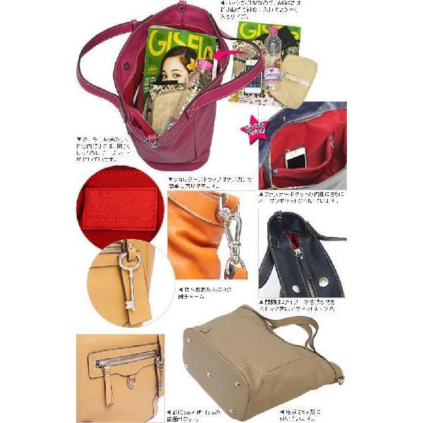 トートバッグ ハンドバッグ レディース レディス 通勤 2WAY 本革レザー 斜め掛け イタリアブランド brand AmberRose セレーネ bag carron 05