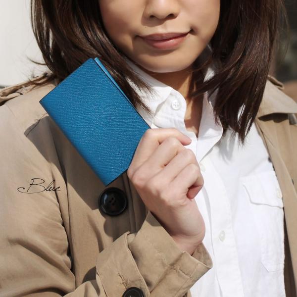 名刺入れ メンズ Men's カードケース レディース レディス 仕事 ビジネス チェルケスレザー SONNE|carron|06