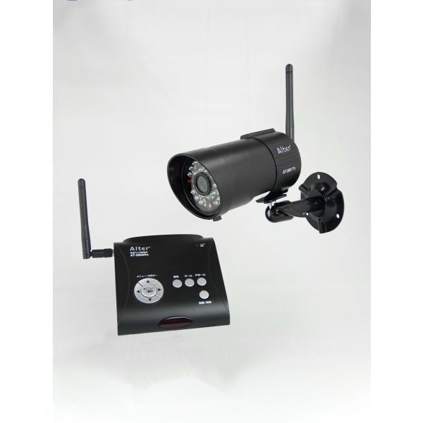 録画一体型 防水・防塵デジタル無線カメラセット AT-2800 carrot-shop