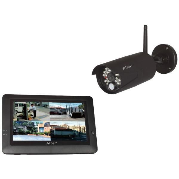 ハイビジョン無線カメラ&モニターセット AT-8801|carrot-shop