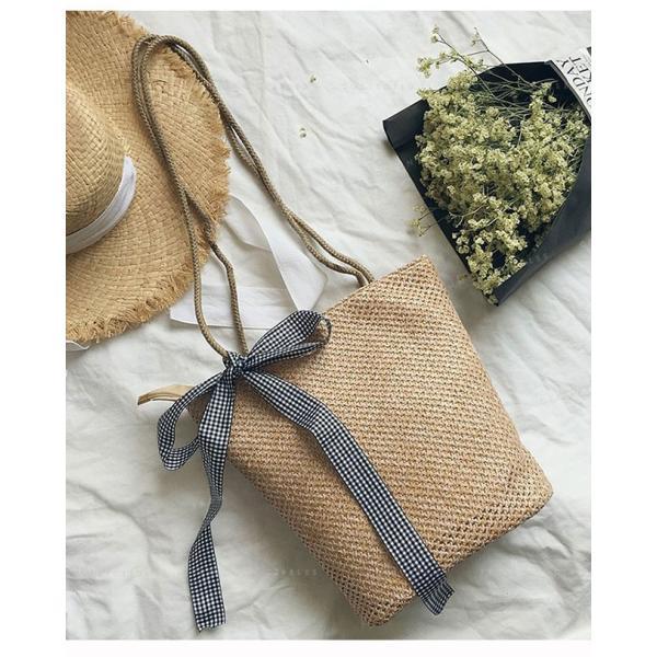 かごバッグ  トートバッグ レディース わらかサマーかごバッグ お花見にぴったりのかごバッグ 人気 大きめ 軽量 軽い マザーズ ギフト