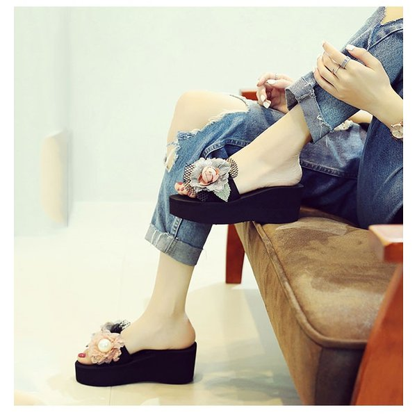ビーチサンダル 厚底 韓国風 ウェッジサンダル 夏新作 レディースファッション ミュールサンダル