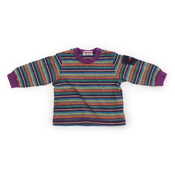 f45e8d082030d0 ミキハウス mikiHOUSE トレーナー・プルオーバー 80サイズ 男の子 子供服 ベビー服 キッズの画像
