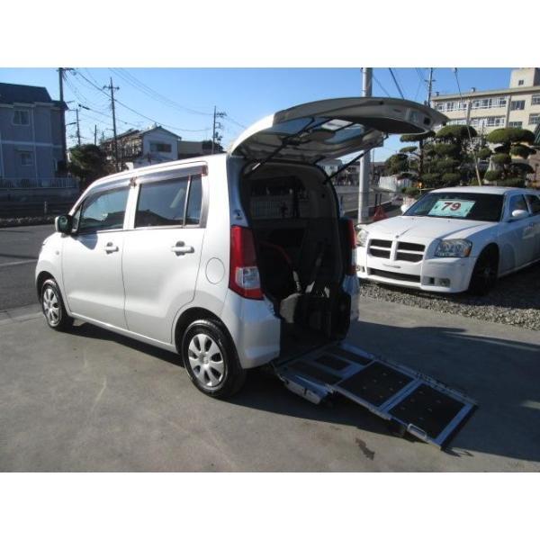 ワゴンR 福祉車両 スローパー 電動固定式 車椅子移動車 Tチェーン式 ワンオーナー車|carsensor