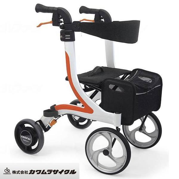 シルバーカー 手押し車 老人用 高齢者 カート 介護用品 屋内外両用歩行器 カワムラサイクル KW41・UL-502174