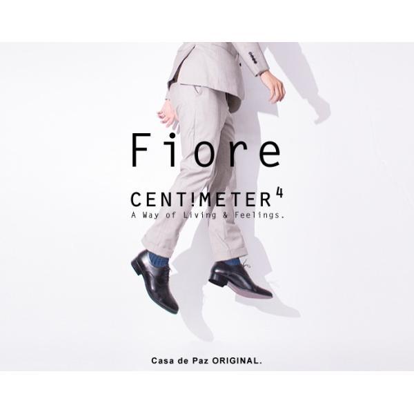 ビジネスシューズ ビジネス 革靴 メンズ 本革 黒 ストレートチップ 内羽根 結婚式 フォーマル 日本製 Fiore フィオーレ|casadepaz|04