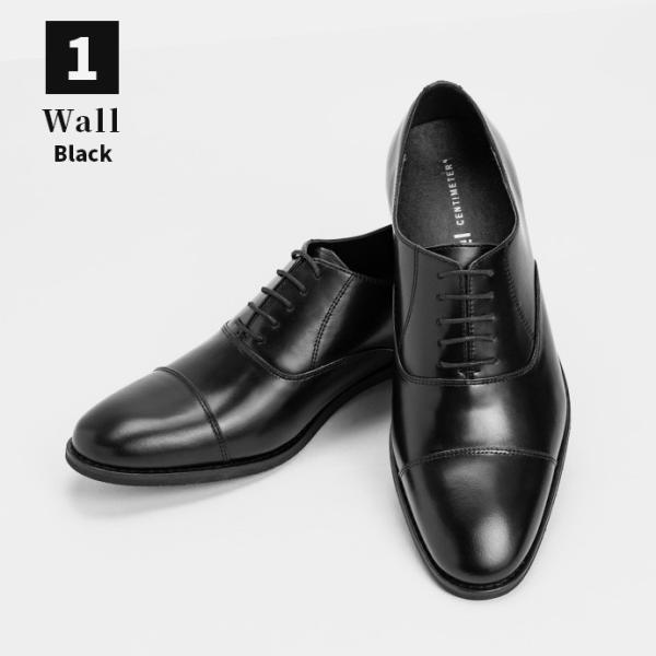 ビジネスシューズ 革靴 ストレートチップ 内羽根 ビジネス メンズ 本革 ガラスレザー 黒 茶 結婚式 就活 フォーマル 日本製 紳士靴 Wall casadepaz 15