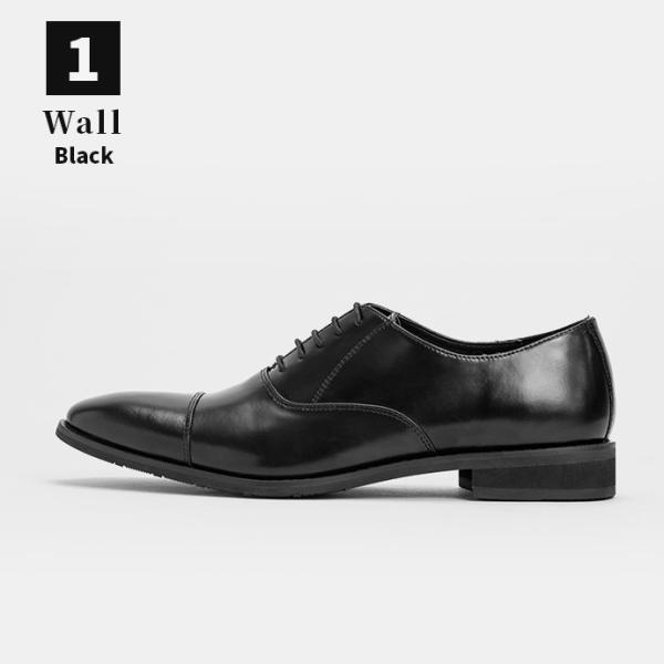 ビジネスシューズ 革靴 ストレートチップ 内羽根 ビジネス メンズ 本革 ガラスレザー 黒 茶 結婚式 就活 フォーマル 日本製 紳士靴 Wall casadepaz 16