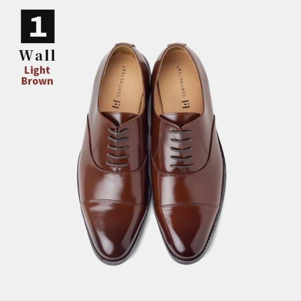 ビジネスシューズ 革靴 ストレートチップ 内羽根 ビジネス メンズ 本革 ガラスレザー 黒 茶 結婚式 就活 フォーマル 日本製 紳士靴 Wall casadepaz 17