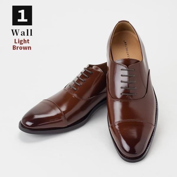 ビジネスシューズ 革靴 ストレートチップ 内羽根 ビジネス メンズ 本革 ガラスレザー 黒 茶 結婚式 就活 フォーマル 日本製 紳士靴 Wall casadepaz 18