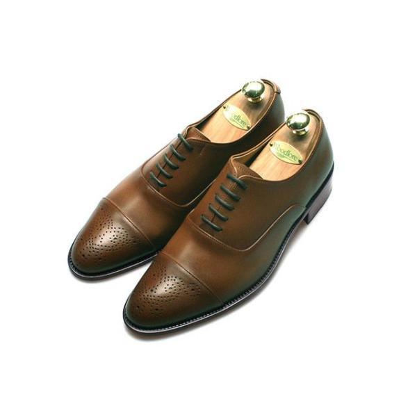 メダリオン 本革 メンズ ビジネスシューズ 革靴 紳士靴 ハンドメイド|casadepaz|04