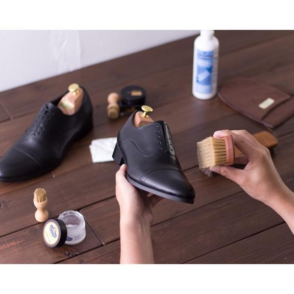 ブラック プロ・ブラックブラシ スムース革 ツヤ出し・仕上げ用 【 シューケア 革靴 手入れ 】 R&D