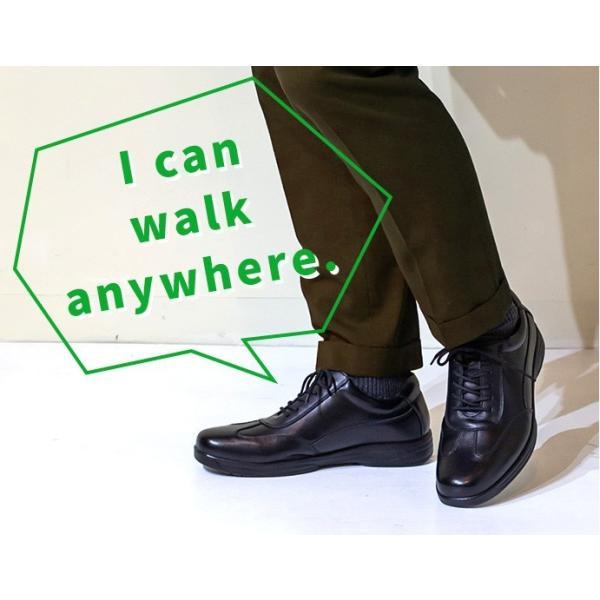 ビジネスシューズ ビジネススニーカー 黒 茶 メンズ 通勤 歩きやすい 革靴 革靴風スニーカー デデス|casadepaz|02
