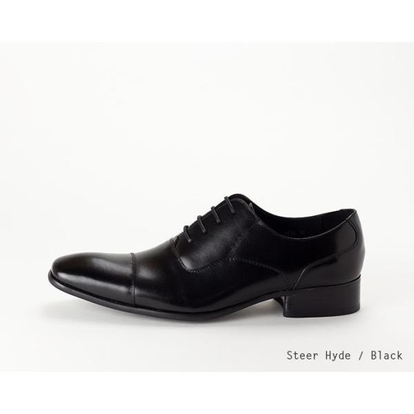 ビジネスシューズ ストレートチップ 内羽根 幅広 本革 ロングノーズ 黒 茶 革靴 紳士靴 日本製 結婚式 メンズ サラバンド sa7770|casadepaz|13