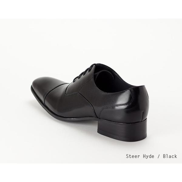 ビジネスシューズ ストレートチップ 内羽根 幅広 本革 ロングノーズ 黒 茶 革靴 紳士靴 日本製 結婚式 メンズ サラバンド sa7770|casadepaz|14