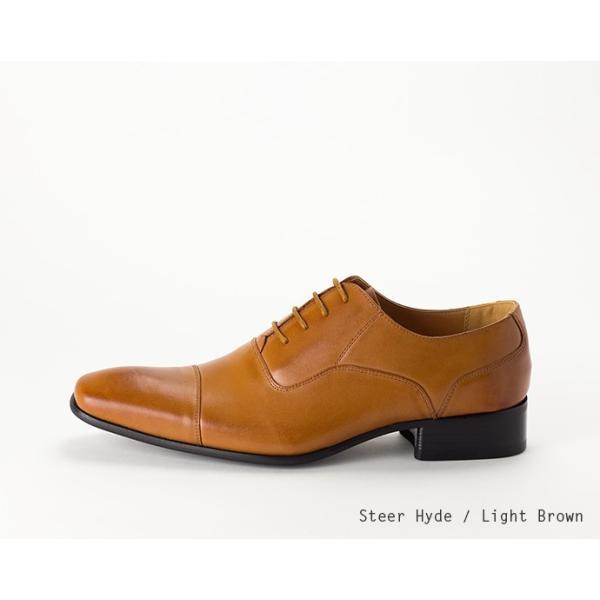 ビジネスシューズ ストレートチップ 内羽根 幅広 本革 ロングノーズ 黒 茶 革靴 紳士靴 日本製 結婚式 メンズ サラバンド sa7770|casadepaz|19