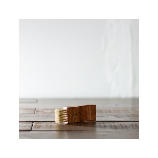 アプライブラシ ホワイト 【 シューケア 靴クリーム塗布用 スムースレザー ブラシ 】 サフィール ノワール ( Saphir Noir )|casadepaz|06