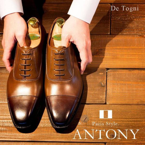 ビジネスシューズ メンズ 本革 Antony アントニー [OX15] De Togni (ディ・トーニ) グッドイヤー製法|casadepaz