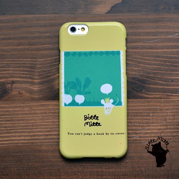 iPhone8 iphoneXR iPhoneXs iPhone6s iPhone7 ケース おしゃれ 耐衝撃 女性 女子 レディース ハード アニマル かぶのおはなし/Bitte Mitte|casegarden