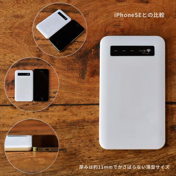 モバイルバッテリー iPhone iPhone8 iPhoneXR バッテリー 充電器 おしゃれ 女性 アンドロイド 春 チューリップ 親指姫/あひるカフェ|casegarden|02