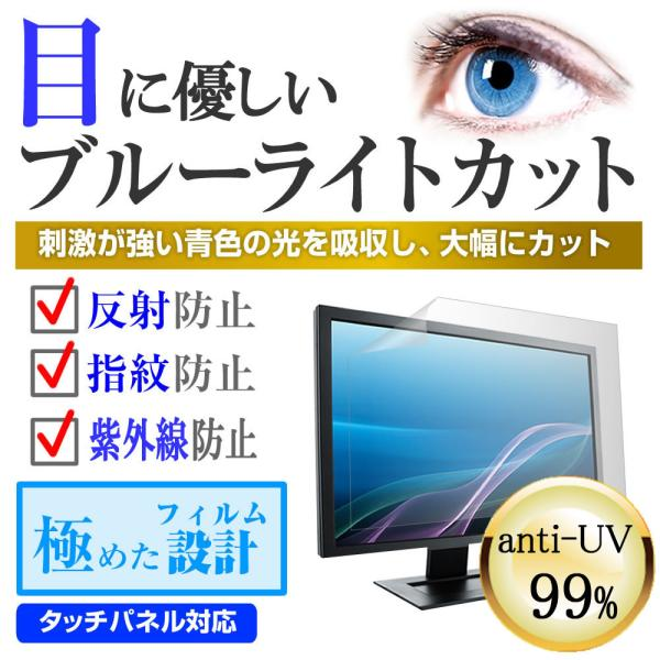パナソニック VIERA TH-42C305 強化ガラス と 同等の 高硬度9H ブルーライトカット 反射防止 液晶TV 保護フィルム