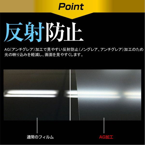 シャープ AQUOS LC-40R30 強化ガラス と 同等の 高硬度9H ブルーライトカット 反射防止 液晶TV 保護フィルム casemania55 04