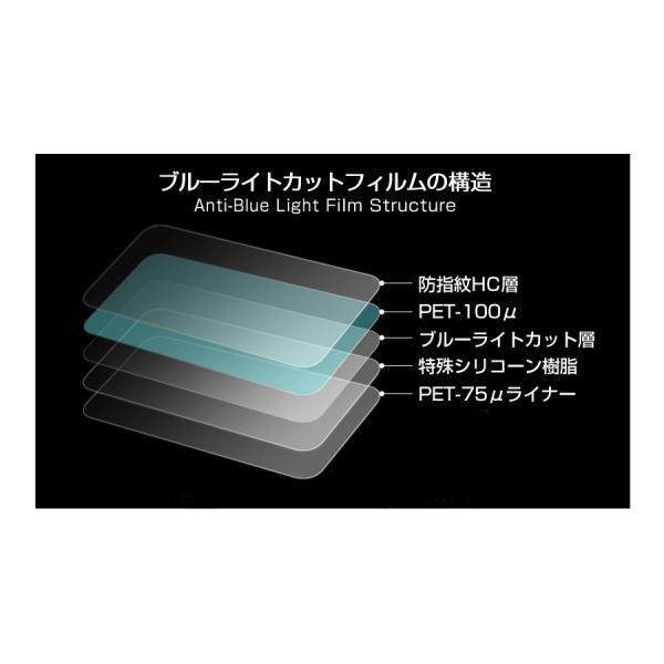 三菱電機 REAL LCD-24LB7[24インチ]ブルーライトカット 反射防止 液晶保護フィルム