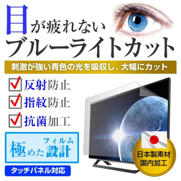 SANSUI SDN24-B11[24インチ]ブルーライトカット 反射防止 液晶保護フィルム