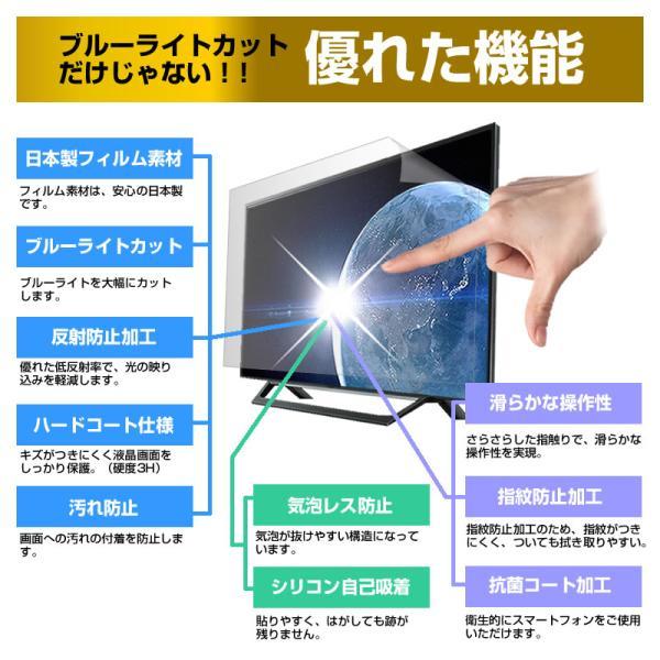 日立 Wooo L19-A5 ブルーライトカット 反射防止 液晶保護フィルム 指紋防止 気泡レス加工 画面保護