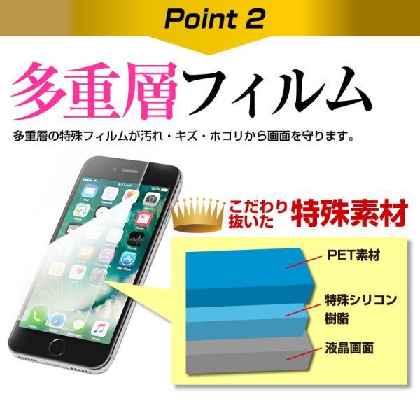 TCLコミュニケーションテクノロジー ALCATEL PIXI 4 スマートフォン 手帳型 レザーケース と 指紋防止 液晶保護フィルム ケース カバー スマホケース ピンク casemania55 12