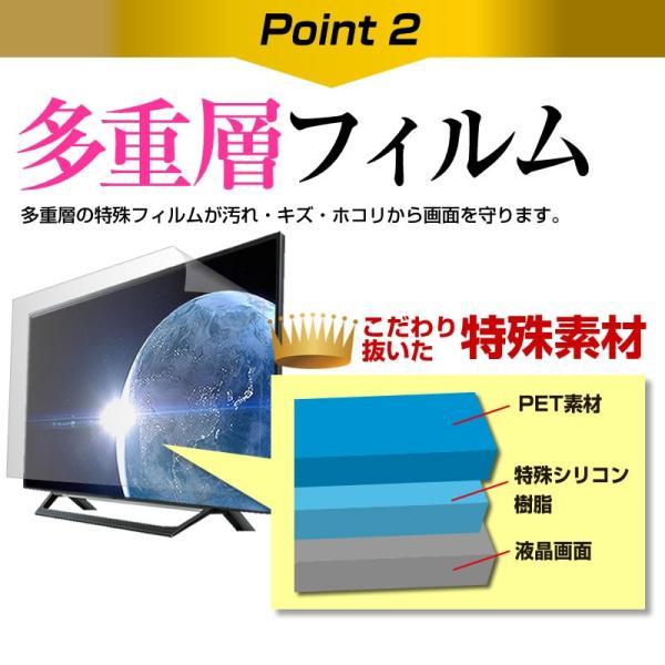 ピクセラ PIX-24VL100[24インチ]機種で使える 透過率96% クリア光沢 液晶保護 フィルム 液晶TV 保護フィルム