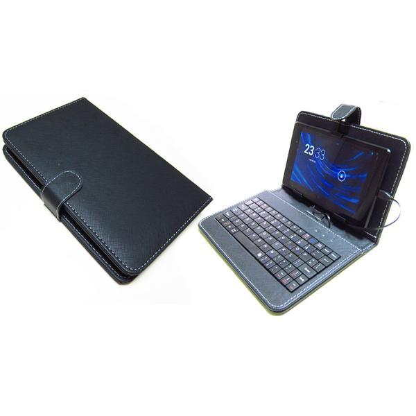 Amazon Fire HD 8 (8インチ) 機種で使える 強化ガラス 同等の 高硬度9H フィルム MicroUSB接続専用キーボード付ケース|casemania55|04