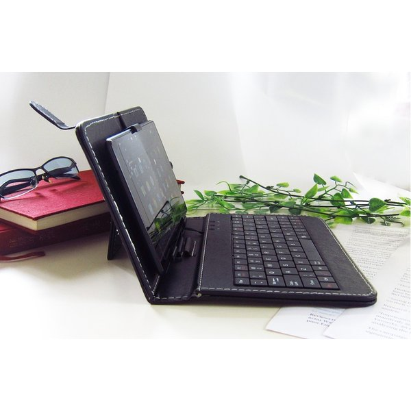 Kindle Paperwhite(2015)(ホワイト)反射防止 液晶保護フィルム MicroUSB接続専用キーボード付ケース|casemania55|05