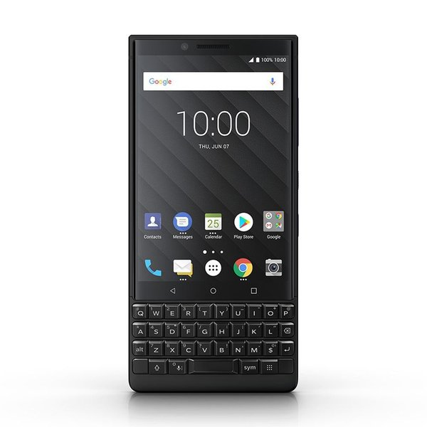 BlackBerry KEY2 BBF100-9 128GB ブラック auの画像