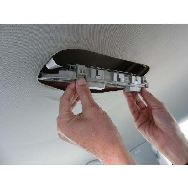 フォルクスワーゲンゴルフ5 ゴルフ6 天井はがれ修理に新提案パーツ ルーフライニングリペアトリムS (パールグレー)|casport|05