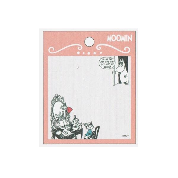 ムーミン のりつきメモ ピンク [195742]
