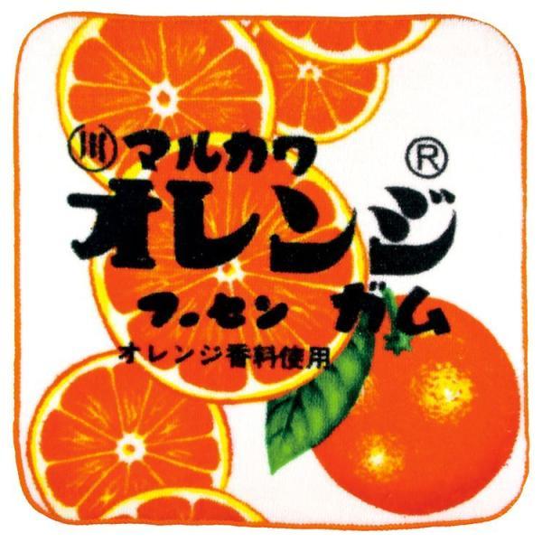 マルカワフーセンガム やわらかミニタオル オレンジ ★お菓子シリーズ★ [133185]
