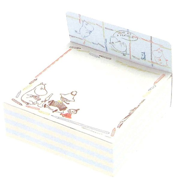 ムーミン ブロックメモ 鉛筆フレーム [031163]