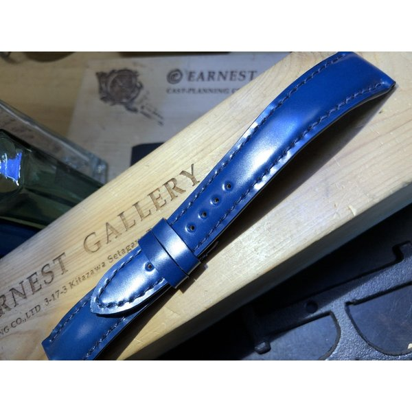 EARNEST 18.20.22mmハンドメイド/コードヴァン10色、グラマラスシェイプ/Dバックル付き、選べる厚み |cast|05