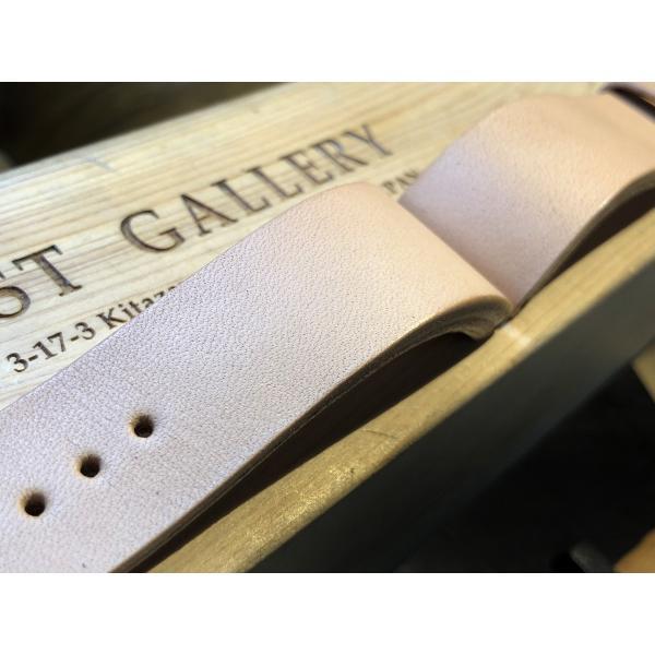 EARNEST:ハンドメイド【極厚フラットDバックル仕様/栃木レザーカーフ18mm,20mm,22mm,24mm】|cast|07