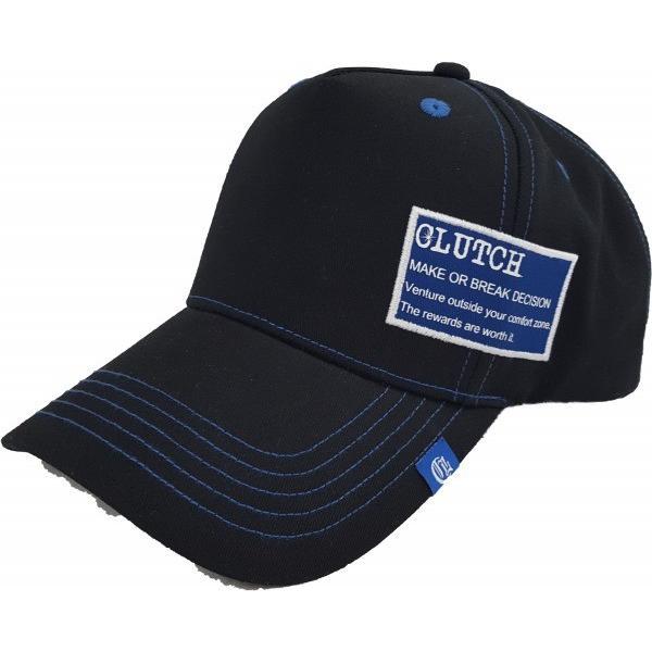 CLUTCH(クラッチ) CCP-001 ワッペンキャップ フリー ブルー 帽子