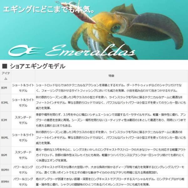 ダイワ エメラルダス 83M 【np194rod】