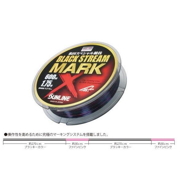 サンライン 新 松田スペシャル競技 ブラックストリームマークX 600M #2.25