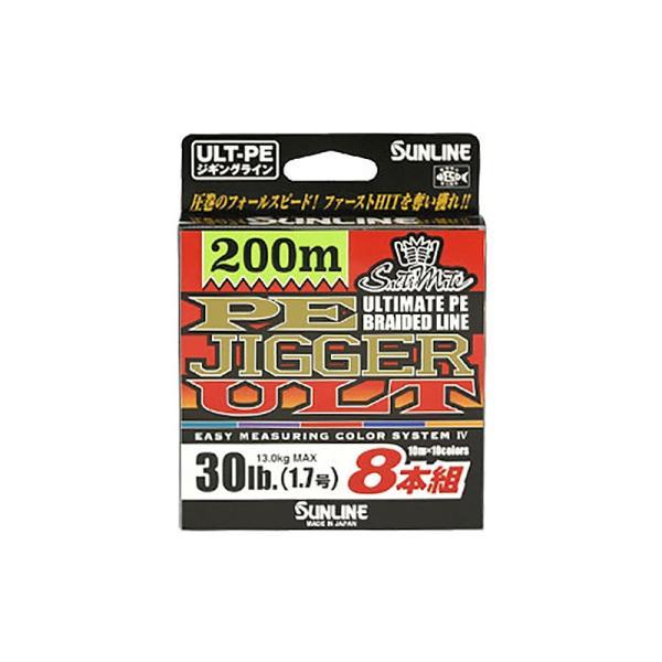 サンライン PE ジガー ULT 8本組 300m 6号