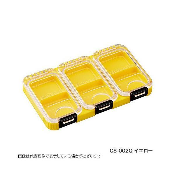 シマノ(shimano) スタッフケース60 CS−002Q イエロー 2コマ