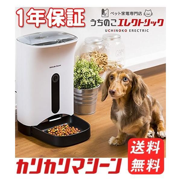 カリカリマシーン 猫 犬 ご飯用 自動給餌器 自動餌やり機  1年保証 タイマー式音声録音機能付き ペット えさ キャットフード|catfamily|02