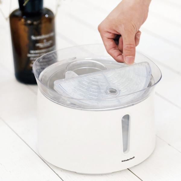 猫&犬用 毎日きれいな水飲み器 アクアメビウス自動給水器用 交換用フィルター3個入 日本メーカー安心1年保証サポート 活性炭フィルター みずのみ器  水