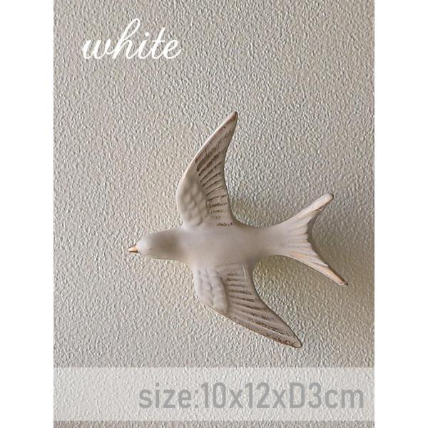 壁飾り ウォールデコレーション /10x12xD3cm Sサイズ/ レジン バードデコ クリスマス /color:ゴールド・ホワイト/|cathay-plus|07